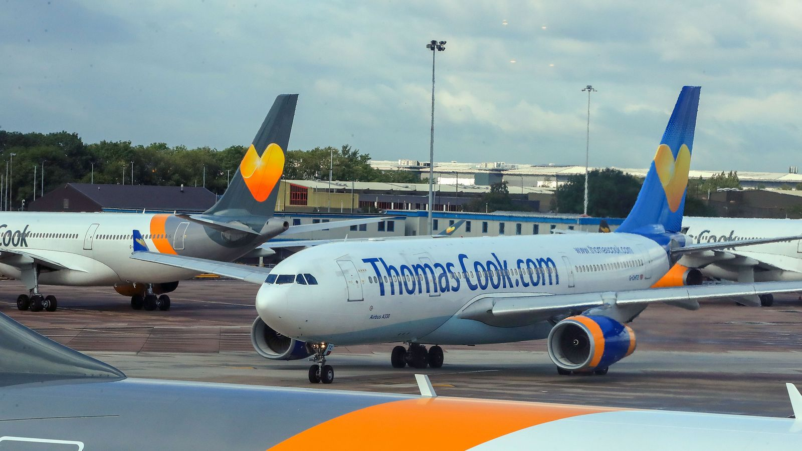 Thomas Cook crisis: UK 'has plans in place' if customers are left stranded