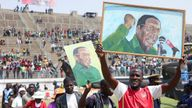 Mr Mugabe was credited with helping to end white minority rule in Zimbabwe