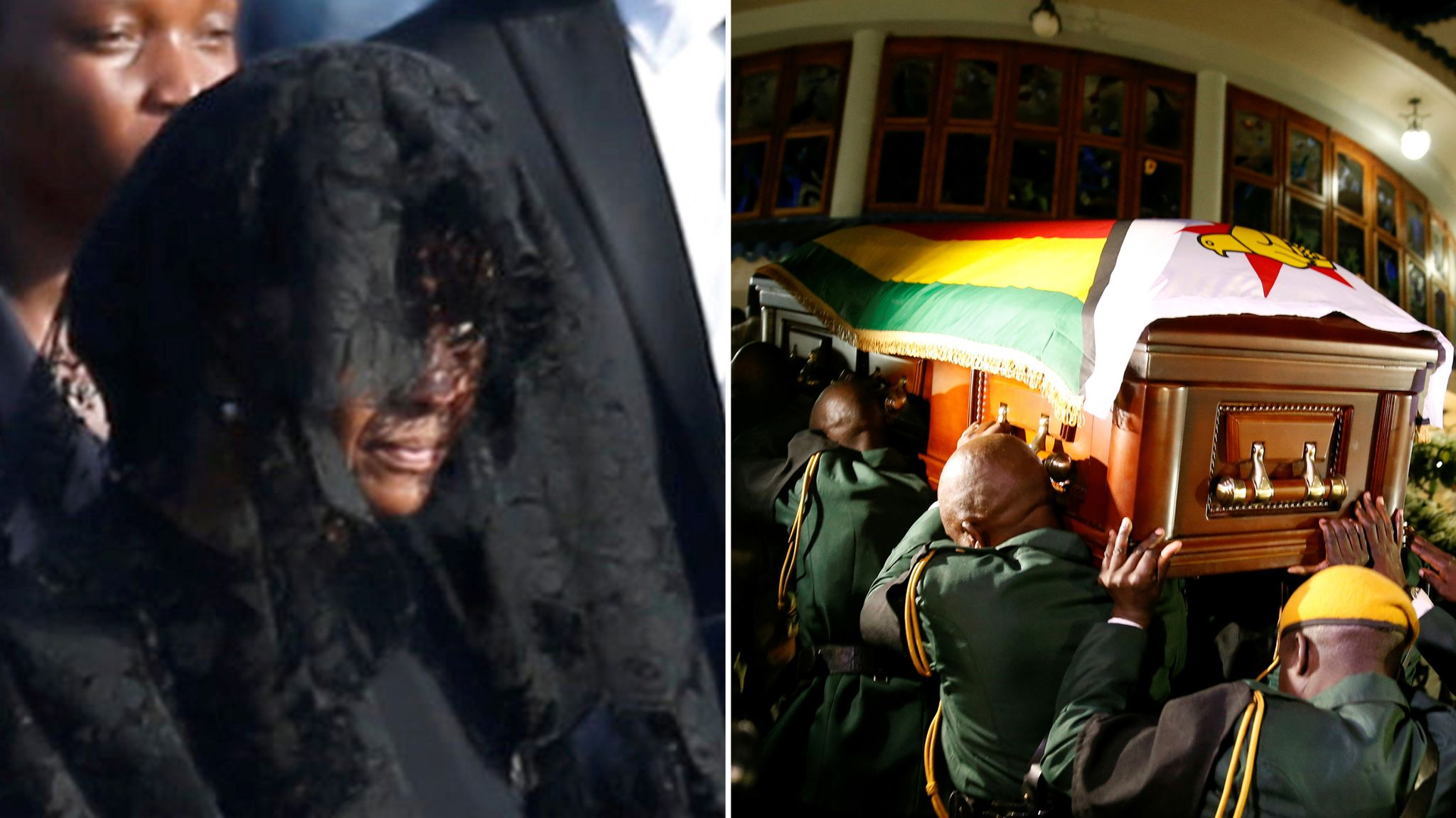 Robert Mugabe family backs down over burial after 'threat to Grace'