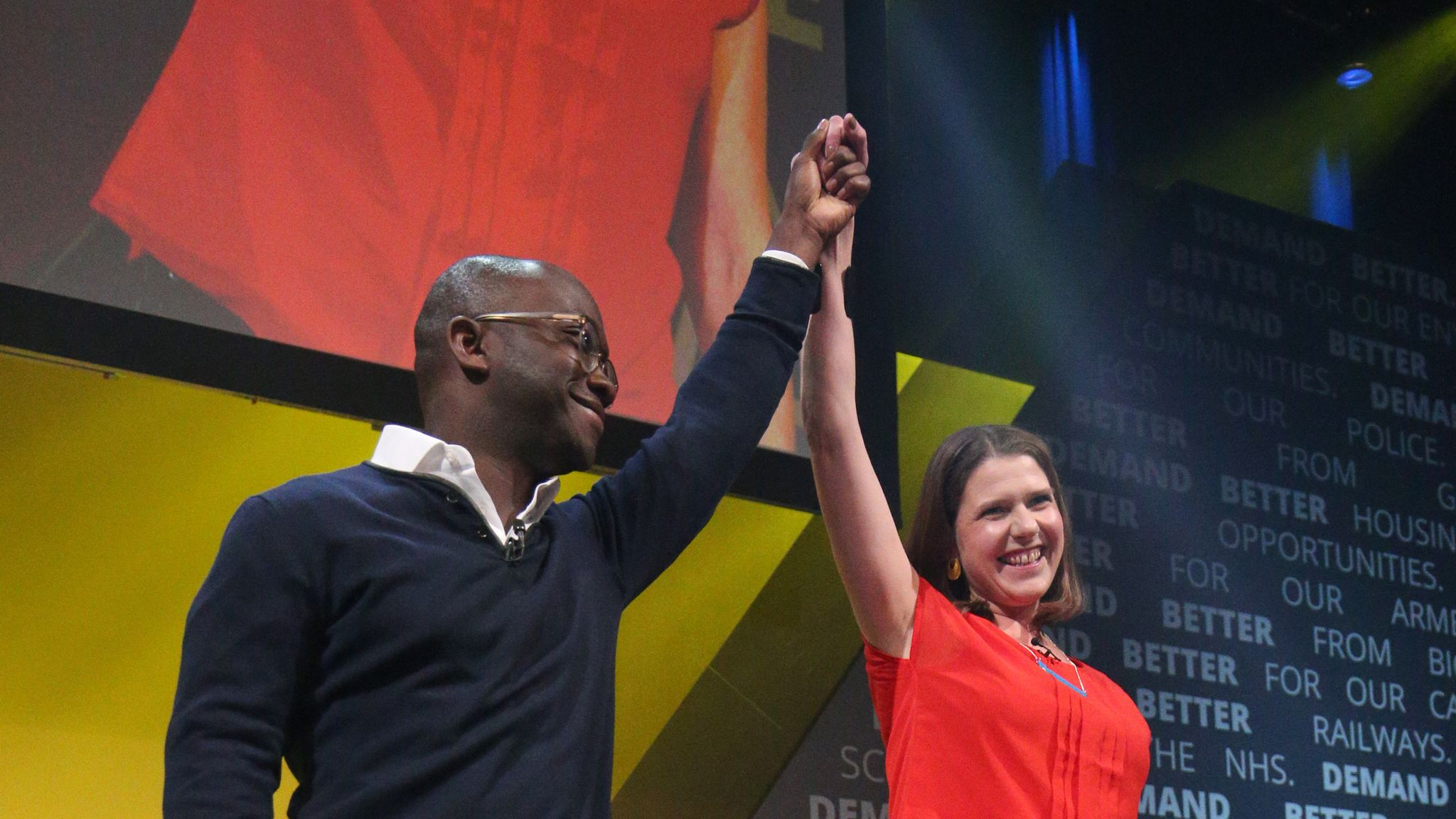 Former Tory leadership contender Sam Gyimah defects to Liberal Democrats