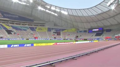 Inside the Khalifa Stadium