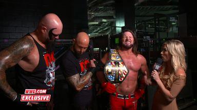 AJ Styles revels in Clash victory