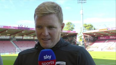 Howe hails physical effort