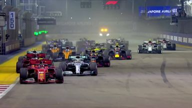 First lap: Singapore GP