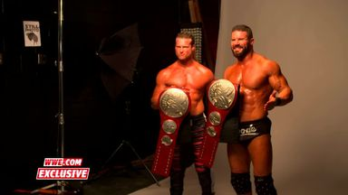 Ziggler & Roode pose for title photoshoot