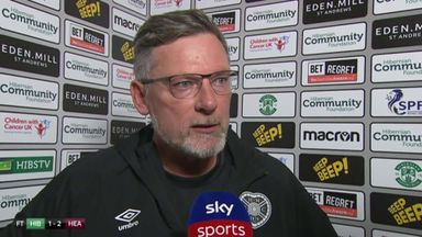 Levein 'exhausted' after Hearts win
