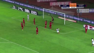Last-minute rabona winner in China!