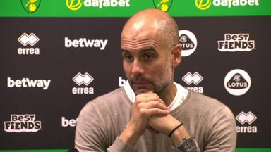 Pep 'congratulates' Liverpool on title