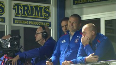 Coaches show emotion of relegation fight