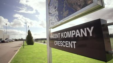 Man City name road after Kompany