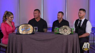 Orton, Miz & Christian discuss the I.C Title