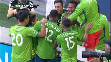 Seattle 4-3 LA Galaxy