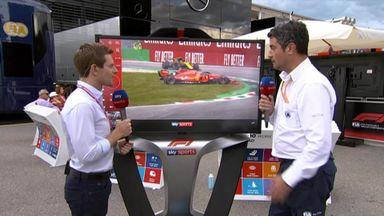 FIA race director on Italian GP incidents