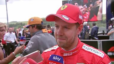 Vettel not happy with fourth