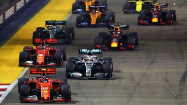 Race Highlights – Singapore GP