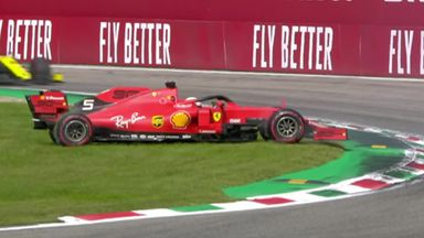 Vettel penalised after spin