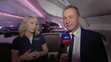 Talking tactics at 35,000 feet