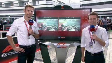 Button's Leclerc vs Vettel verdict