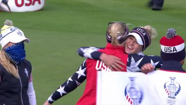 Solheim Cup: Day 2 highlights