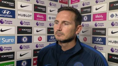 Details the difference for Lampard