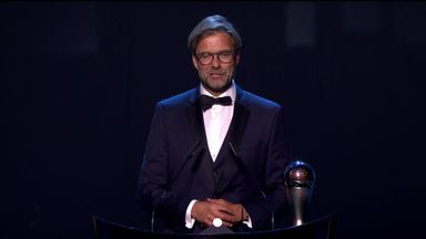 Klopp awarded Best FIFA men's coach award