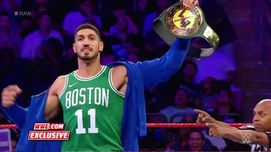 Celtics' Enes Kanter wins WWE title!