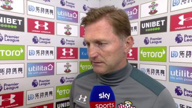 Hasenhuttl: We lost in first half