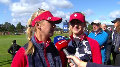Korda sisters win first point for USA