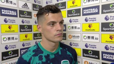 Xhaka: We got scared