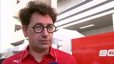 Binotto explains Ferrari decisions