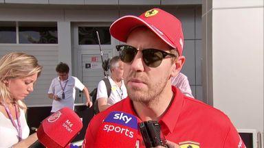 Vettel: Bitter result for Ferrari