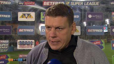 Radford: We've been horrendous