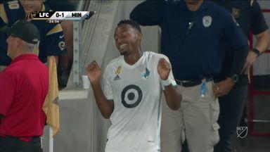LAFC 0-2 Minnesota United