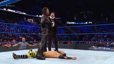 Nakamura ambushes Ali before match