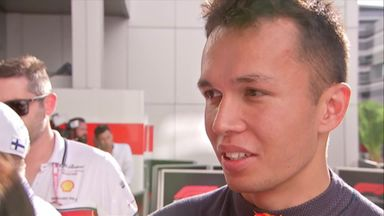 Albon frustrated with crash