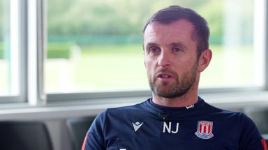 Jones relishing Stoke 'pressure'
