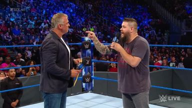 Owens confronts Shane-O-Mac over firing
