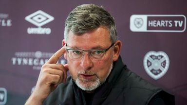 Levein 'hurt' by Hearts protests