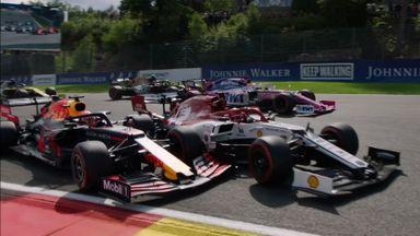 Verstappen out of Belgian GP!