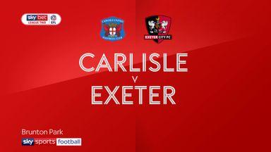 Carlisle 1-3 Exeter