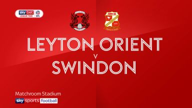 Leyton Orient 1-3 Swindon