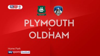 Plymouth 2-2 Oldham
