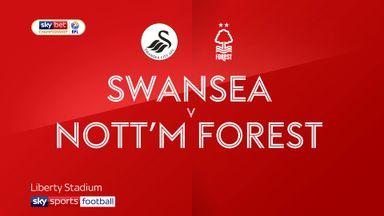 Swansea 0-1 Nott'm Forest