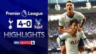 Tottenham ease past Palace