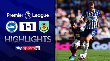 Late Hendrick goal secures Burnley draw