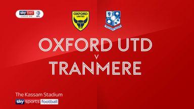 Oxford Utd 3-0 Tranmere