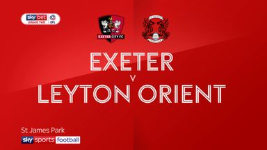 Exeter 2-2 Leyton Orient