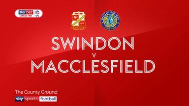 Swindon 3-0 Macclesfield
