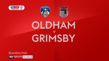 Oldham 2-2 Grimsby