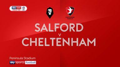 Salford 0-2 Cheltenham